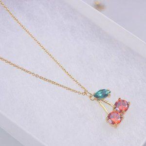 Kate Spade Color Zircon Cherry Necklace